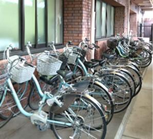 自転車は10台以上!!