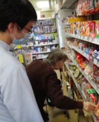 買い物・調理訓練