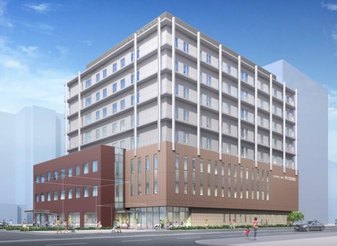 新病院完成予想図